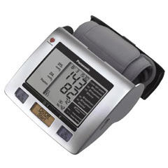 Panasonic's EW3122S Portable Upper Arm Blood Pressure Monitor is Compact and Portable
