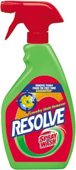 RESOLVE (formerly SPRAY N WASH) Pre Treat Trigger (22 Ounces) Product Shot