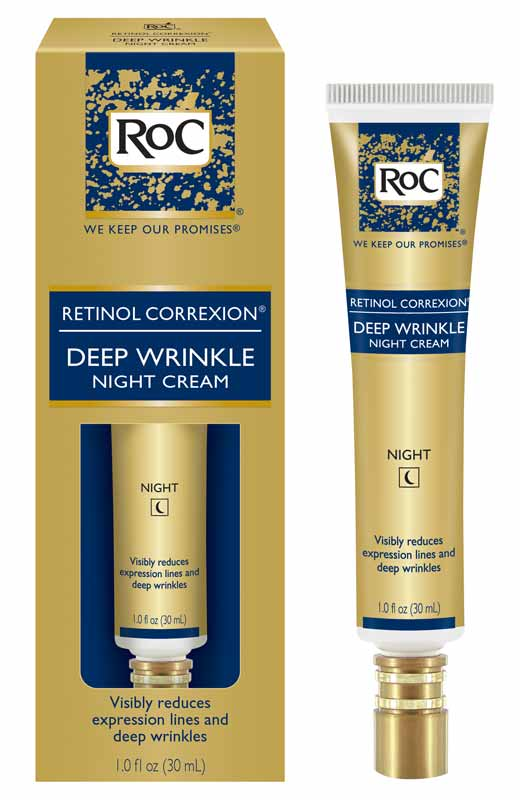 Amazon.com: RoC Retinol Correxion Deep Wrinkle Night Cream