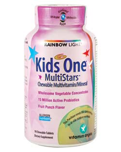 Kids One MultiStars (90 Tablets) Product Shot