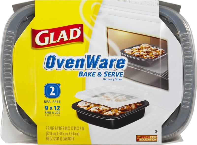 Amazon.com: Glad Food Storage Containers - Glad OvenWare
