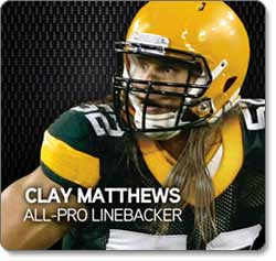 Clay Matthews All-Pro Linebacker