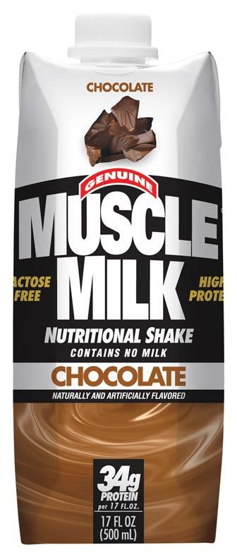 Amazon Com Muscle Milk Genuine Protein Shake Chocolate