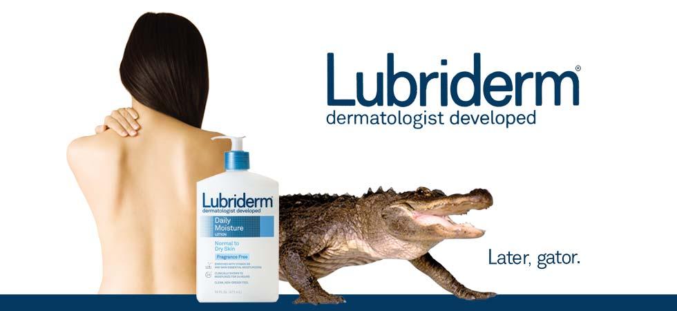 Lubriderm banner