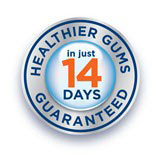 14 days for healthier gums, guaranteed
