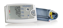 LifeSource Advanced Blood Pressure Monitor with AccuFit Extra Large Cuff (UA-789AC) Product Shot