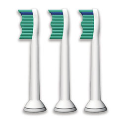 Philips Sonicare HX6013/66 ProResults Brush Head Standard, 3-Pack Product Shot