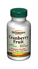 Sundown Naturals Cranberry Fruit (200 Capsules)