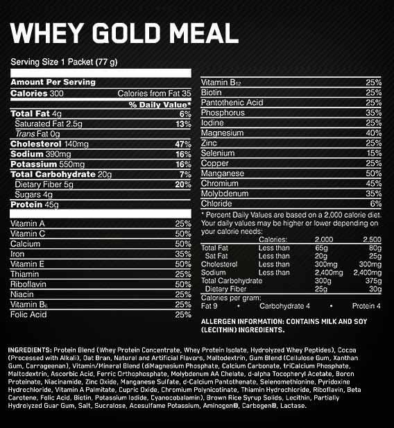 Boost Original Complete Nutritional Drink Vanilla Delight: Amazon.com: OPTIMUM NUTRITION Whey Gold Meal, Vanilla