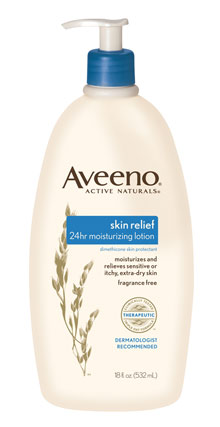 AVEENO Active Naturals Skin Relief Moisturizing Lotion with Soothing Oatmeal, 18-ounces Product Shot