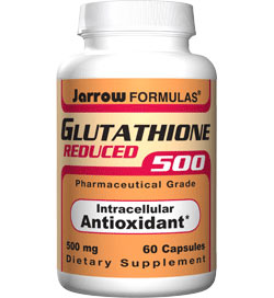 Jarrow Formulas Reduced Glutathione, 500mg, 60 Capsules Product Shot