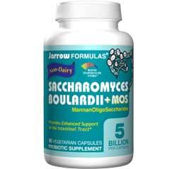 Jarrow Formulas Saccharomyces Boulardii + MOS, 90 Vegetarian Capsules Product Shot