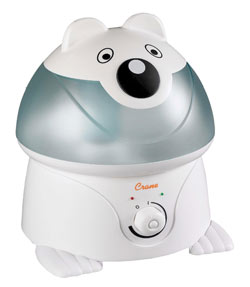 Crane Ultrasonic Cool Mist Humidifier, Panda (1 Gallon)