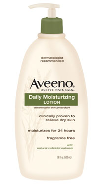 Aveeno, Active Naturals, Daily Moisturizing Lotion, Fragrance Free ...