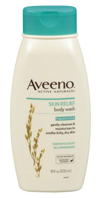 AVEENO Active Naturals Fragrance Free Skin Relief Body Wash, 18-Ounces Product Shot