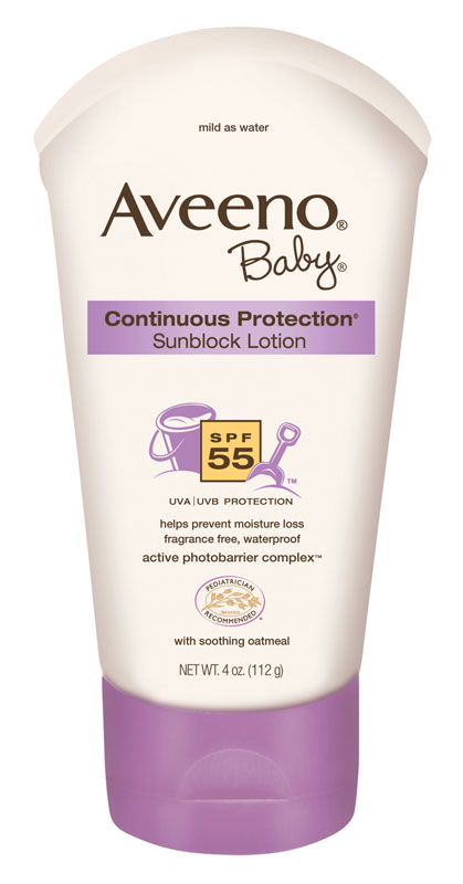 Aveeno Baby Continuous Protection Lotion Sunscreen With Broad Spectrum