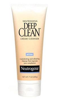 Neutrogena Deep Clean Cream Cleanser Product Shot