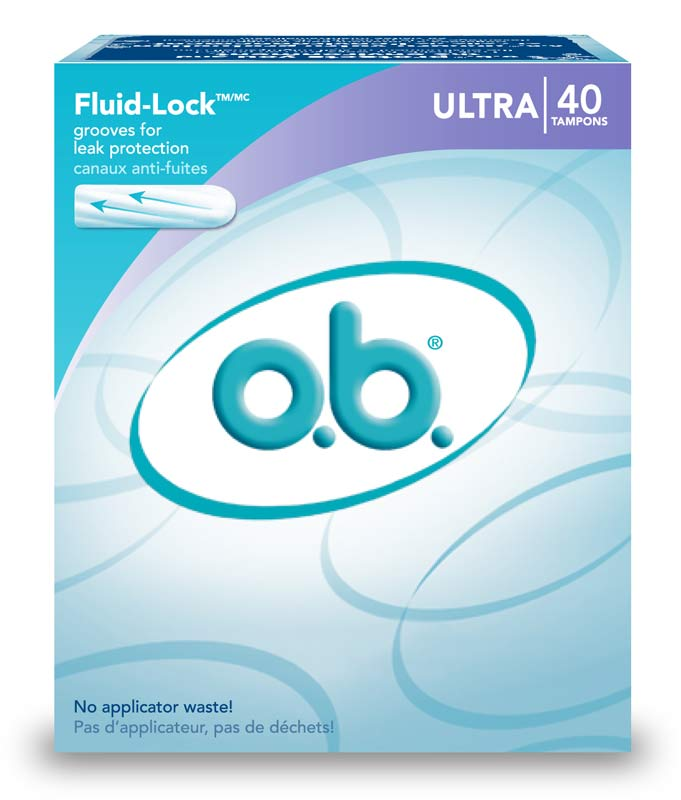 amazon com o b ultra absorbency tampons 40 count pack of 2