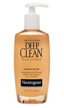 Neutrogena Deep Clean Gel Cleanser Product Shot