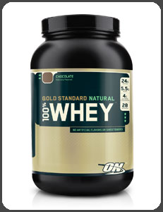 Optimum Nutrition GOLD STANDARD NATURAL 100% WHEY, Natural Chocolate