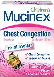 Amazon Com Mucinex Children S Jr Str Mini Melts Bubble