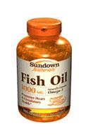 Sundown Naturals Fish Oil 1,000 mg (200 Softgels)