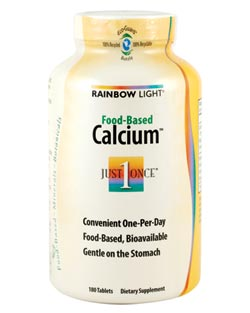 Food-Based Calcium (180 Tablets) Product Shot