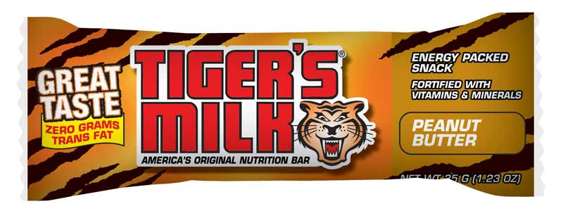 a tiger's milk bar, today