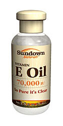 Sundown Naturals Pure Vitamin E-Oil 70,000 IU