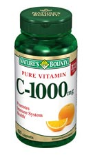 Nature's Bounty Pure Vitamin C-1000 mg (100 Caplets)