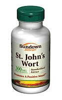 Sundown Naturals St John's Wort Standardized 300 mg (150 Capsules)