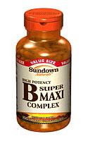 Sundown Naturals Super B Maxi Complex (200 Caplets)