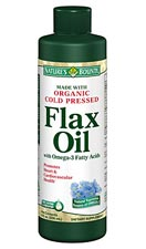 Nature's Bounty Cold Pressed Flaxseed Oil with Omega-3 Fatty Acids (8 Ounces)
