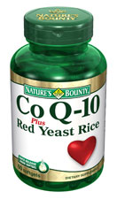 Nature's Bounty Co Q-10 plus Red Yeast Rice (60 Softgels)