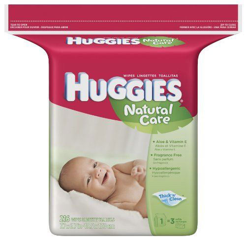 Amazon.com: Huggies Natural Care Baby Wipes, Fragrance ...