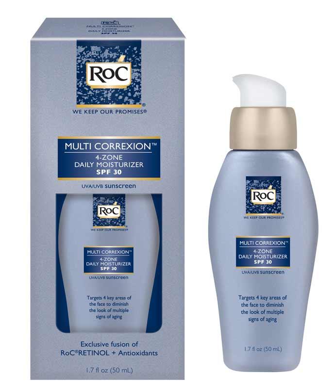 roc multi correxion 4 zone daily moisturizer spf 30 roc multi