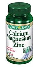 Nature's Bounty Calcium-Magnesium-Zinc (100 Caplets)