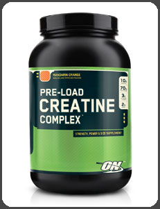 Optimum Nutrition PRE-LOAD CREATINE COMPLEX, Mandarin Orange