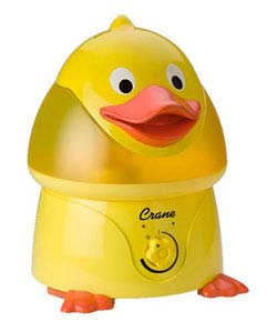 Crane Ultrasonic Cool Mist Humidifier, Duck (1 Gallon)