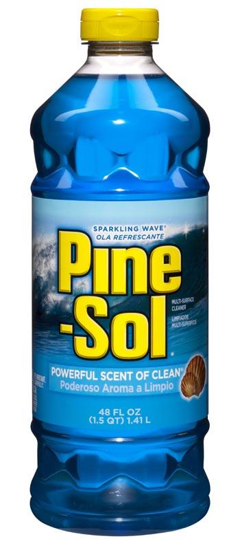 Pine-Sol Sparkling Wave Multi-Surface Cleaner, 48-Fluid Ounce Bottles