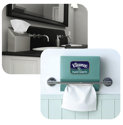 Hand Towels Holder: Amazon.com: Kleenex White Hand Towels (6 Boxes): Health
