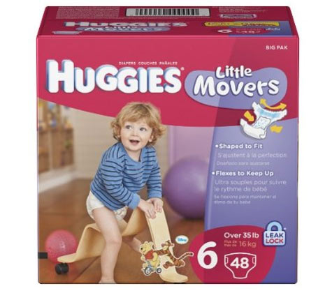 Amazon Com Huggies Little Movers Diapers Size 6 48