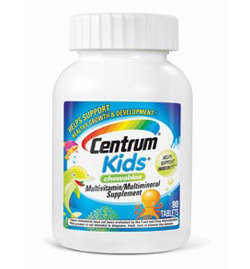 Centrum Kids Multivitamin, 80-Count Product Shot