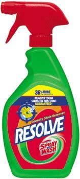 RESOLVE (formerly SPRAY N WASH) Original Trigger 36% Bonus (30 Ounces, Pack of 3) Product Shot