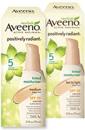 AVEENO POSITIVELY RADIANT Tinted Moisturizer SPF 30 Fair to Light (2.5 Ounces) Product Shot