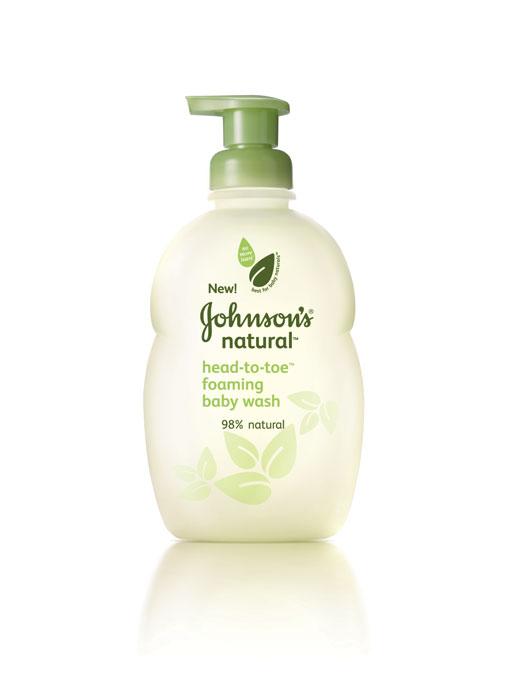 Amazon Com Johnson S Natural Head To Toe Baby Wash 9 Fl