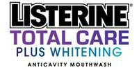 LISTERINE TOTAL CARE PLUS WHITENING Anticavity Mouthwash Logo
