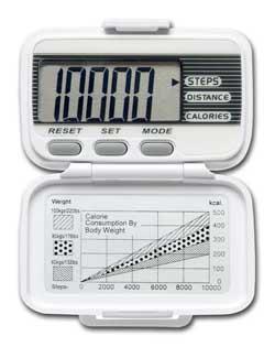 LifeSource Digital Pedometer (XL-15) Product Shot