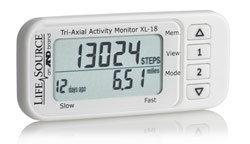 LifeSource Tri-Axial Activity Monitor (XL-18) Product Shot