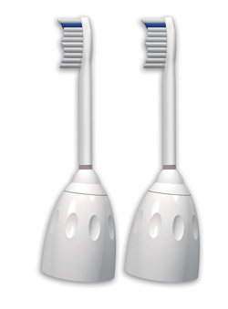 Philips Sonicare HX7002/30 e-series Standard Replacement Brush Head, 2-pack Product Shot